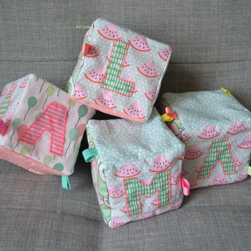 Lokipic - cubes d'éveil personnalisés