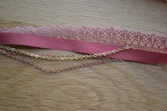 Lokipic - head band vieux rose
