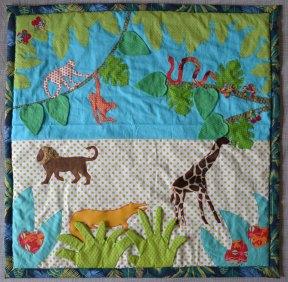 """Lokipic - tapis d'éveil """"dans la jungle"""""""