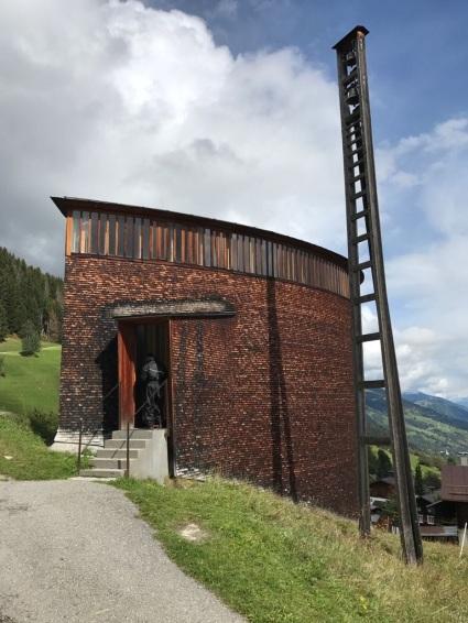Chapelle Saint Benedict - Zumthor - Alpes 2017
