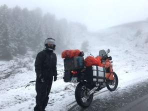 Tempête de neige - Alpes 2017