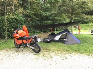 Campement - Alpes 2017