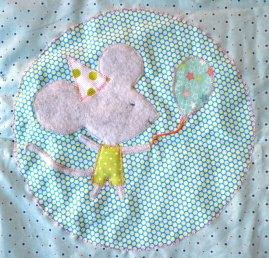 Lokipic - tapis d'éveil souris