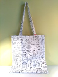 Lokipic - tote bag à colorier